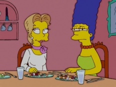 The Simpsons 16x04 : She Used to Be My Girl- Seriesaddict